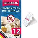 Gerobug® Lebensmittelmotten Falle + Gratis E-Book zum Motten bekämpfen - Mittel gegen...