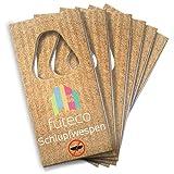 Futeco® – Schlupfwespen gegen Lebensmittelmotten (6 Karten á 3 Lieferungen) – 100%...