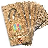 Futeco® – Schlupfwespen gegen Lebensmittelmotten (20 Karten á 3 Lieferungen) – 100%...