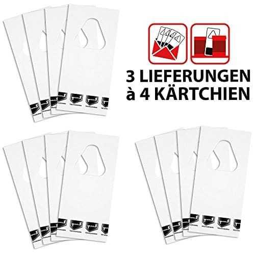 Sautter & Stepper GmbH Komplett-Set Schlupfwespen gegen Lebensmittelmotten inkl. eine Pheromonfalle GRATIS - 12000 Schlupfwespen auf 4 Kärtchen je Lieferung und 3 Lieferungen (34)