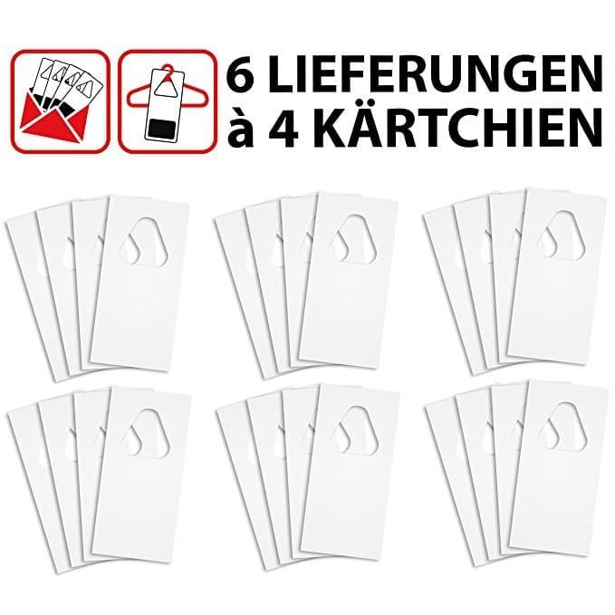 Sautter & Stepper GmbH Schlupfwespen gegen Textilmotten - auf 4 Kärtchen je Lieferung und 6 Lieferungen (64)